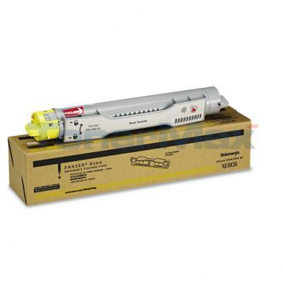 XEROX PHASER 6200 TONER CARTRIDGE YELLOW 3K